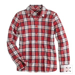J. Crew shrunken boy shirt